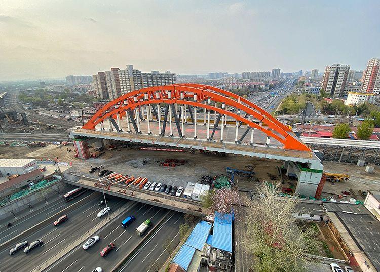 蓝冠官网京沪铁路和西四蓝冠官网环|组图图片