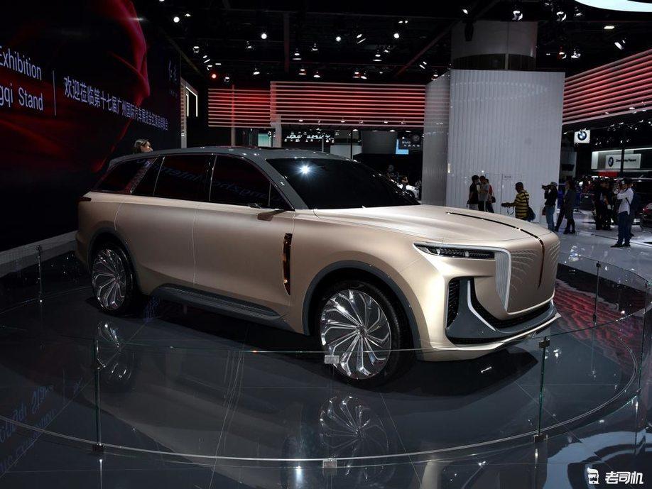 """中国品牌""""库里南"""" 红旗E115量产车谍照曝光"""
