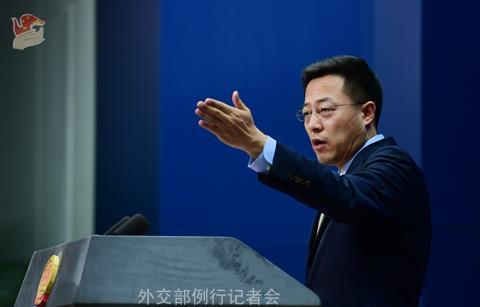 蓬佩奥再就疫情抹黑中国,外交部回应