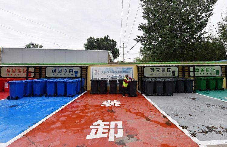 [赢咖3]圾分类做对赢赢咖3积分韩家铺村的图片