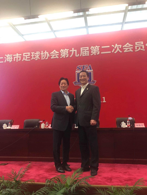 对话柳海光:出任上海足协主席 做到专业人做专业事图片