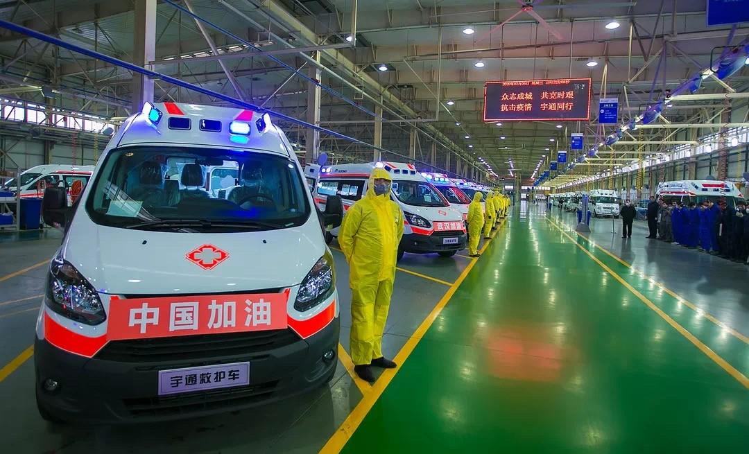从宇通抗疫天富看中国制造的成长与担当,天富图片