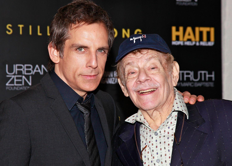 本·斯蒂勒发文证实父亲、喜剧演员杰瑞·斯蒂勒去世图片