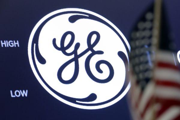 美国通用电气公司标志(新华/美联)