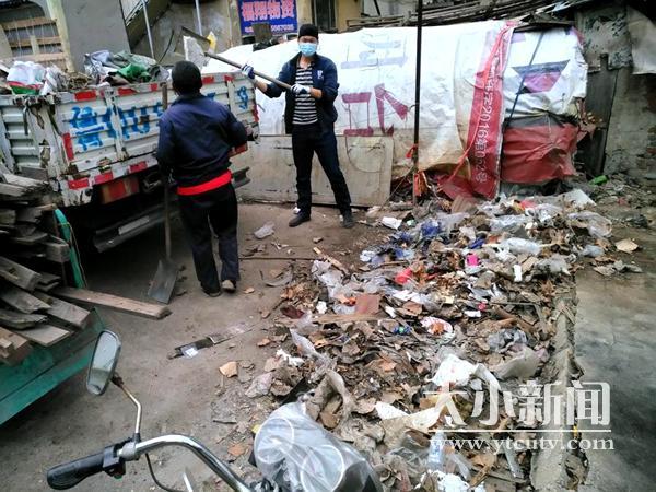 """民意通 老体育场""""三天大变样""""承诺兑现 违法废品回收点被取缔"""