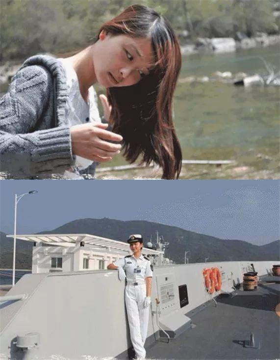 ▲夏雪晗,亲目击到弟弟被救,今后心生参军梦,大二入伍,苦练成为兵舰操舵手。