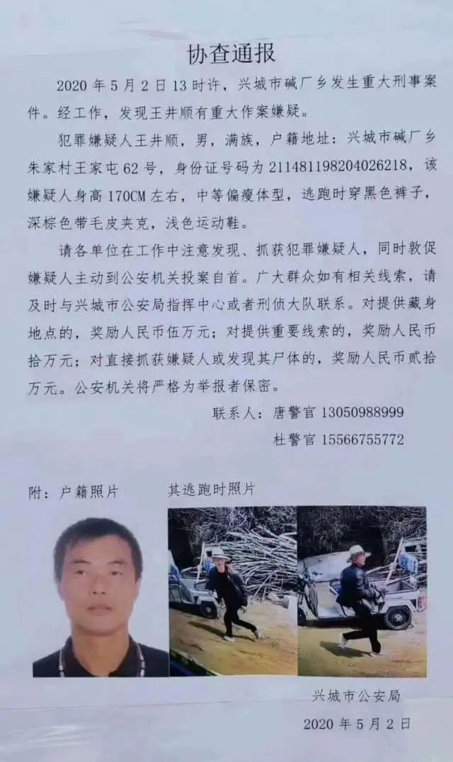 悬赏200000元!辽宁发生重大刑事案件,知情速报|新闻日志