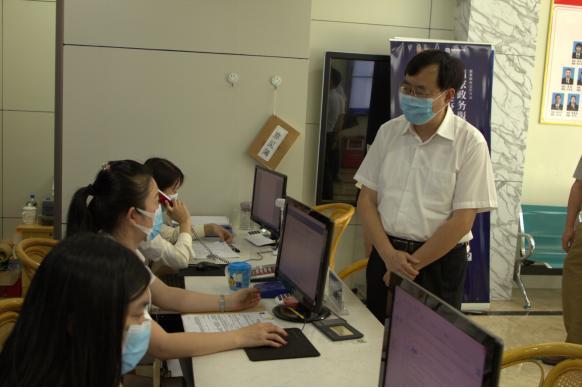 省司法厅陈旭东书记来梅调研司法行政工作