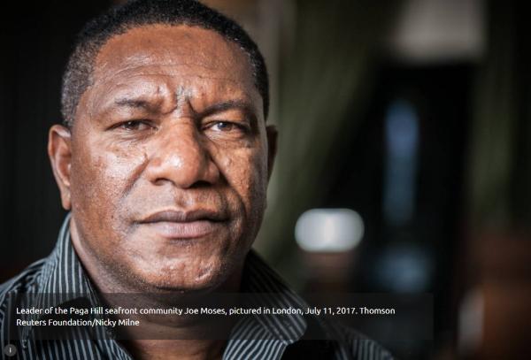 前线视野|巴布亚新几内亚土地活动家:为人民抗争到底