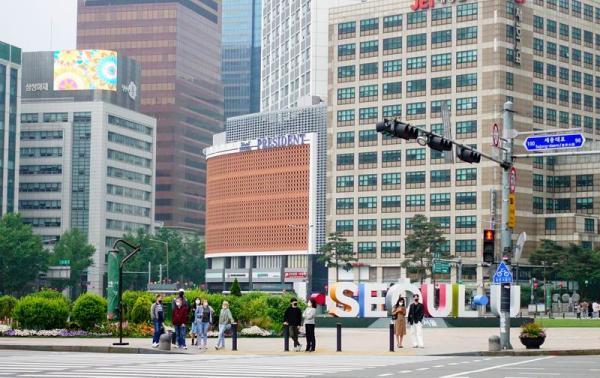 韩国首尔广场。