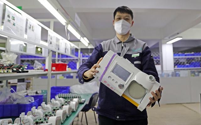 摩天平台:国呼吸机媲美德国摩天平台造但图片