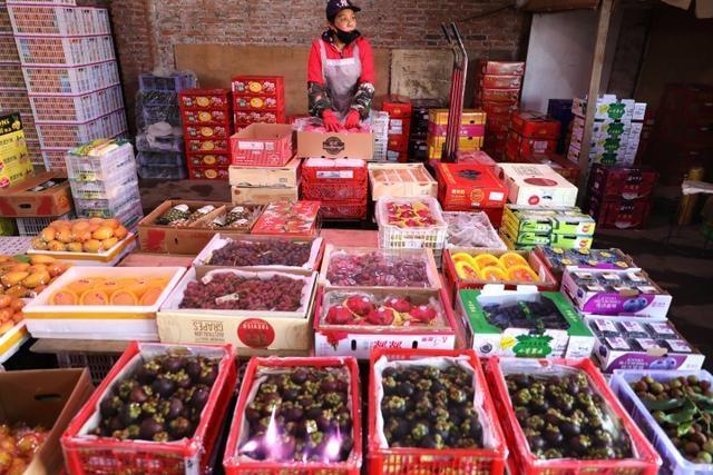 南方水果称霸批发市场