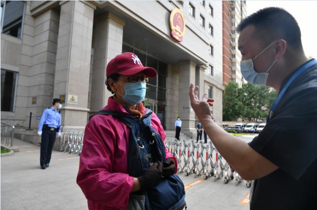 蓝冠官网:法院蓝冠官网诉服大厅重启记者体验图片