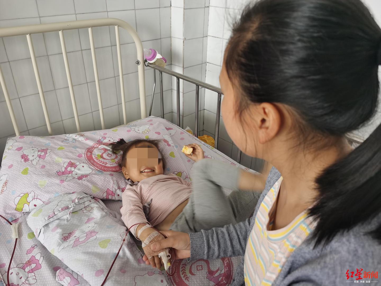 7个月大妹妹要救两岁多地中海贫血姐姐 救命血有了,还差救命钱