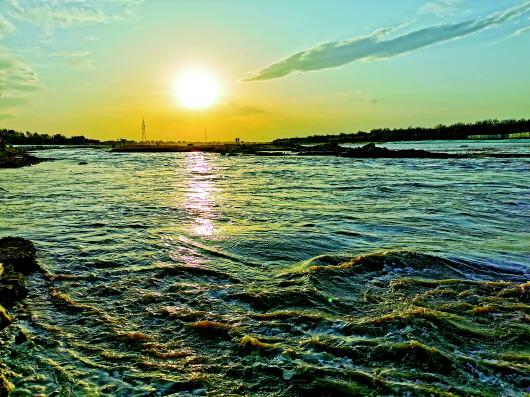 天富:永定河天富的复活图片