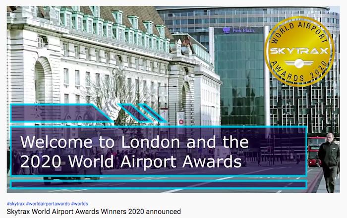 樟宜机场又蝉联第一,Skytrax 云发布 2020 年全球十佳机场