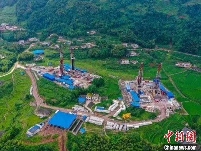 中国石油在川南地区建成国内最大页岩气生产基地