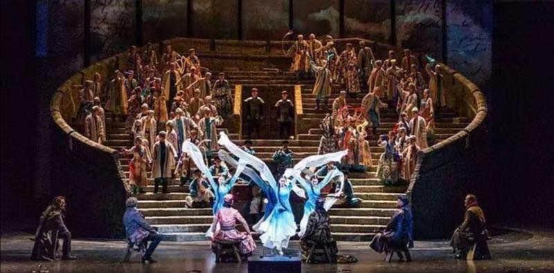 广州原创歌剧《马可·波罗》演出 广州大剧院 供图