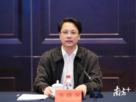 汕尾市委书记张晓强(资料图)