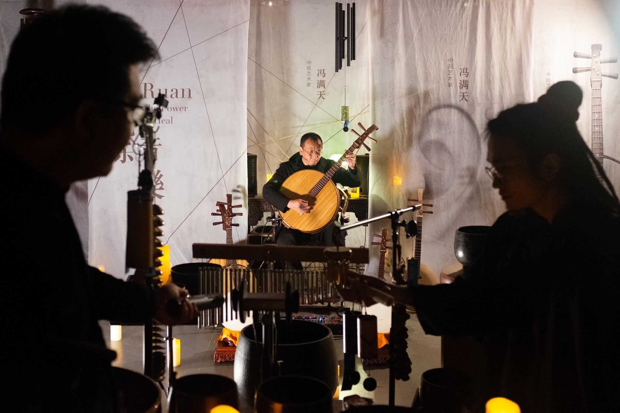 摩天平台:奏家摩天平台冯满天办线上音乐会环绕声图片
