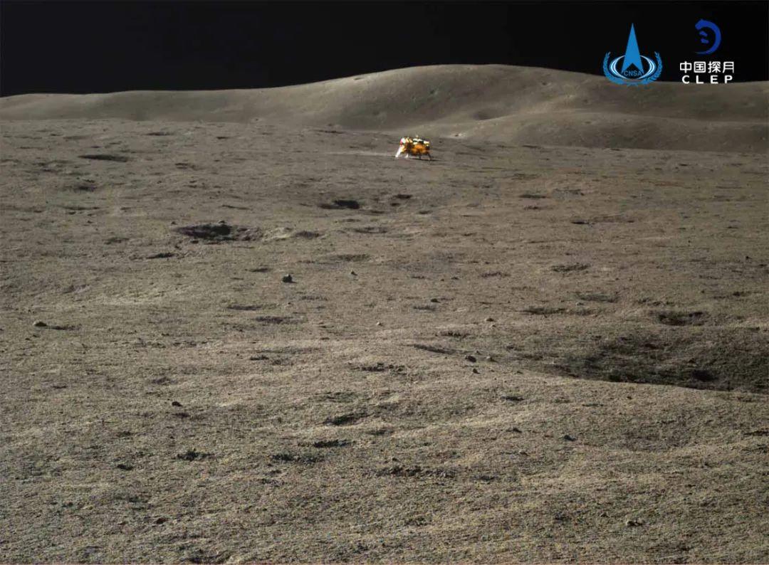 """嫦娥四号和""""玉兔二号""""结束休眠 已奋战500天(图)图片"""