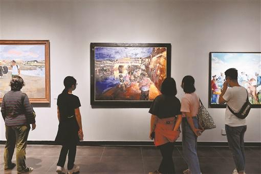 首届中国写意油画双年展开幕