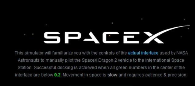 SpaceX发布在线模拟器 预演载人飞船如何与空间站对接