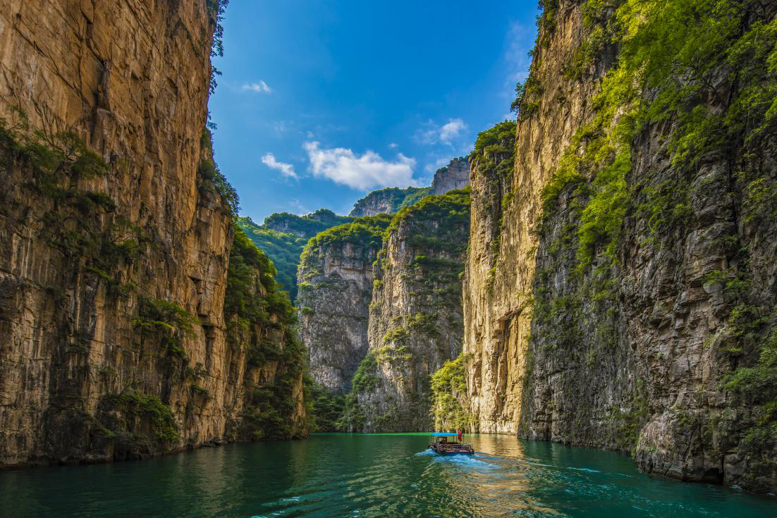 中国旅游日八泉峡门票半价多重优惠纵享太行奇景
