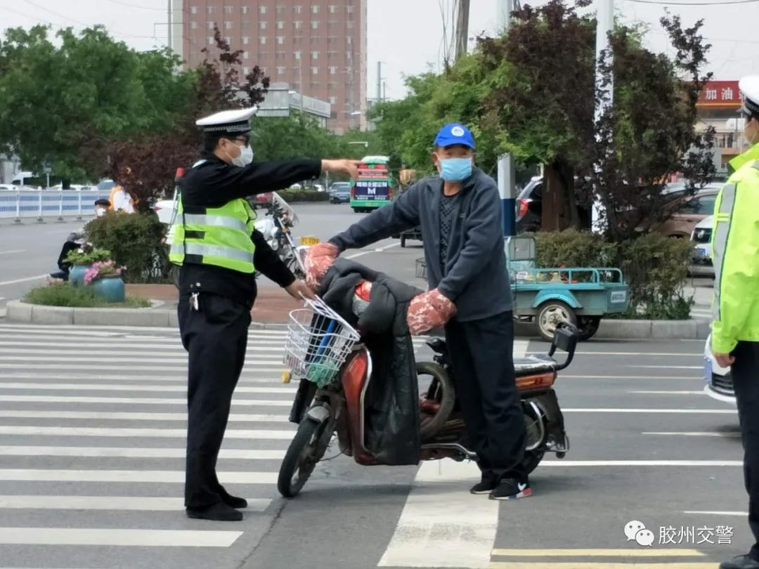<strong>即日起,胶州交警将对行人、电动车违法行为严</strong>