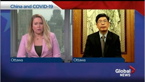 特朗普和特鲁多在应对疫情方面谁做得更好?中国大使回应