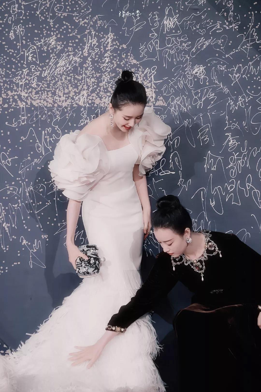 刘诗诗倪妮的女女cp,可以超越钟楚红张曼玉吗?