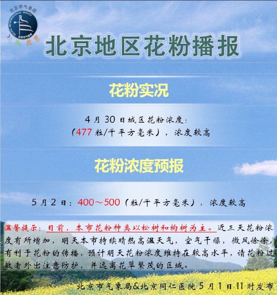 摩天登录,五摩天登录一首日北京花粉柳絮霾齐上阵图片