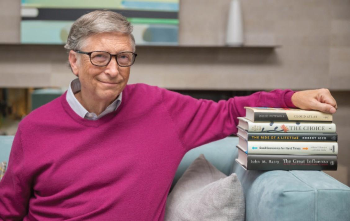 """比尔·盖茨公布夏季书单:""""没有什么事情比读书更美好""""图片"""