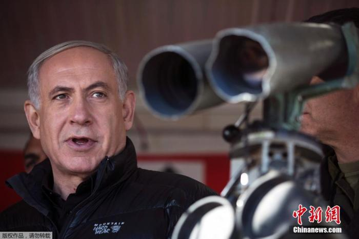 资料图:以色列总理内塔尼亚胡。