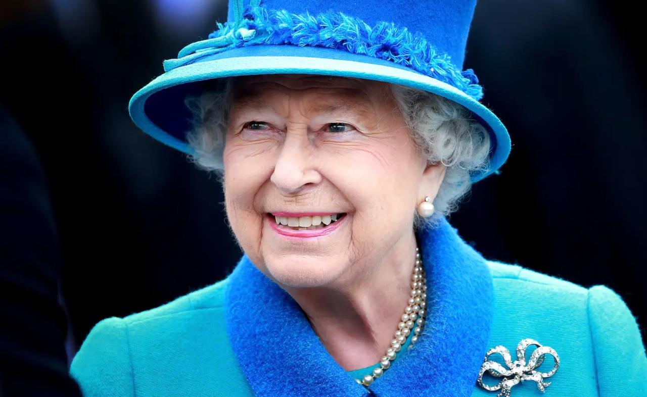 英國女王。商業內幕網站截圖