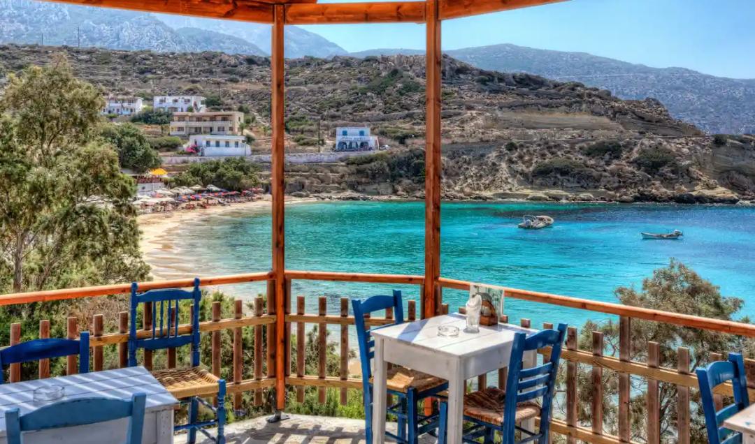 希臘景色。/ 《衛報》網站截圖