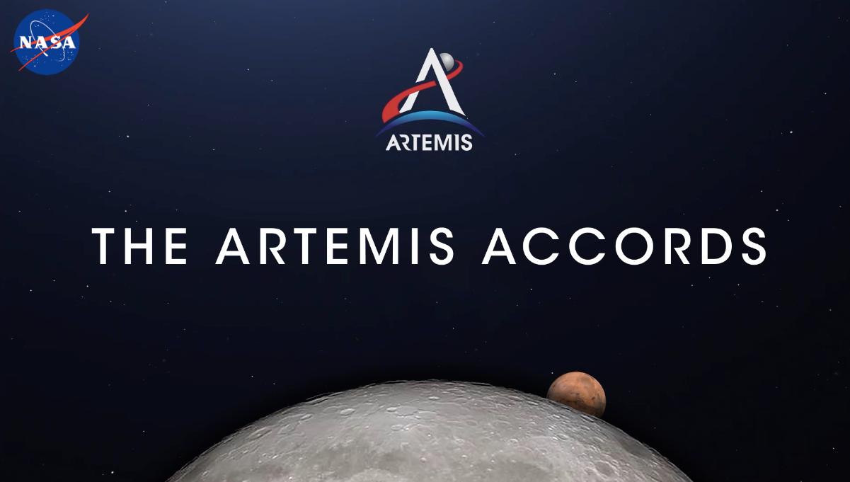 《阿尔忒弥斯协议》。图/NASA网站
