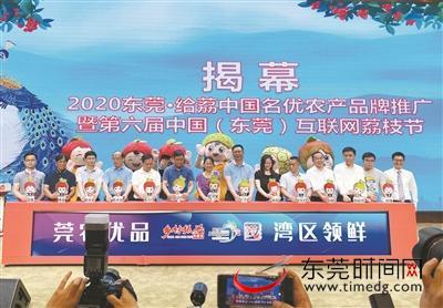 """局长直播推介 网红现场带货 今年荔枝节""""玩""""出新高度图片"""
