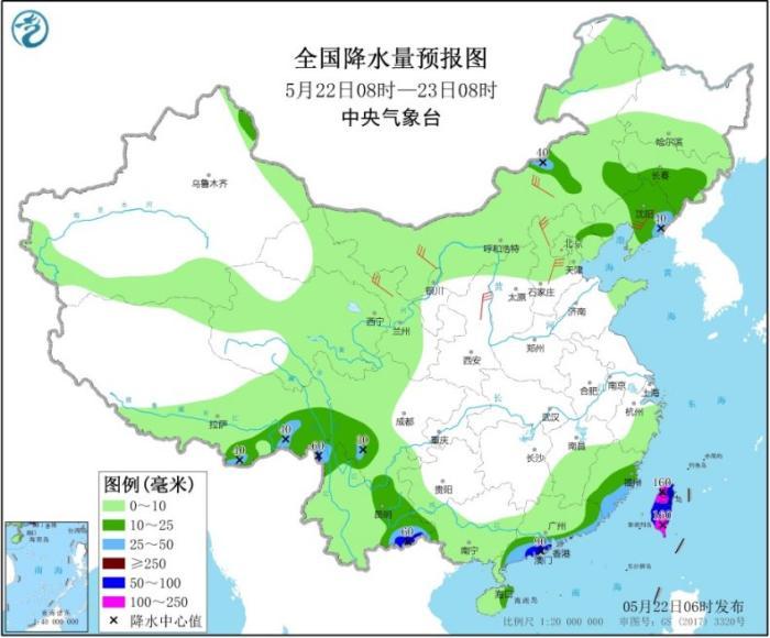 华南地区强降水趋于结束 东北等地多阵雨天气