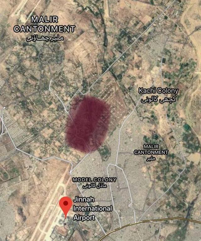 【赢咖3】一赢咖3架客机在巴基斯坦城市卡拉奇坠毁图片