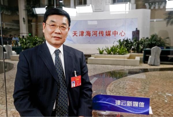 """孙丰源代表: 希望司法机关出台更多机制建设""""平安医院""""图片"""
