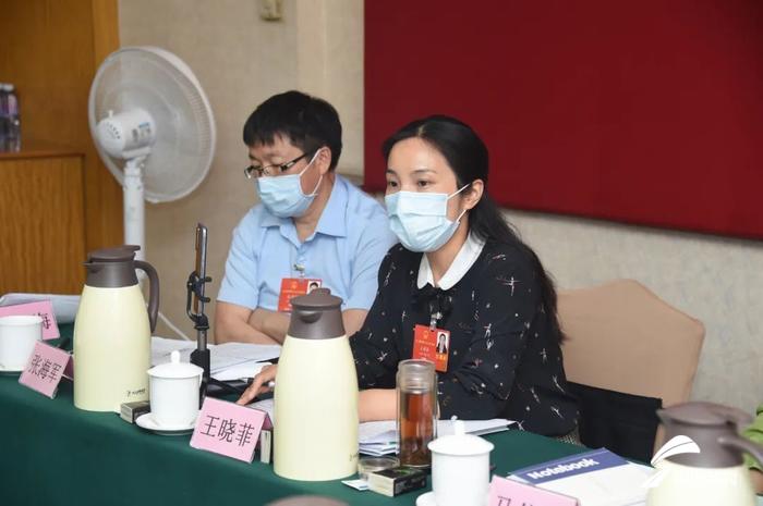 全国人大代表王晓菲:推动纺织行业设备升级 提升产业工人素质