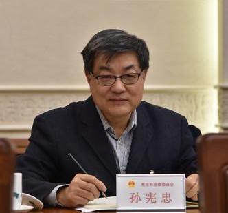 孙宪忠代表:民法典为民事案件办理提供了立法依据图片