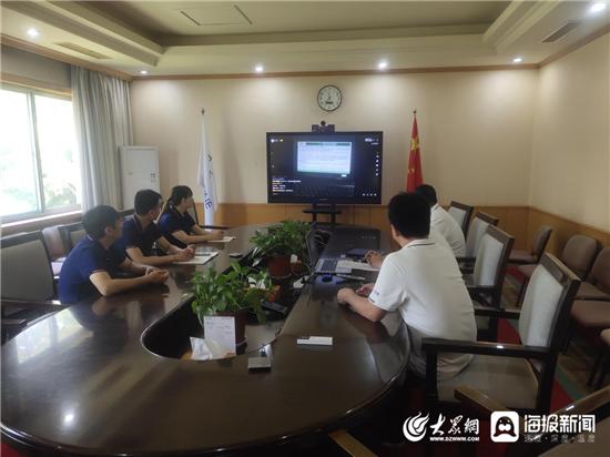 梁山县应急管理局开展安全直播培训