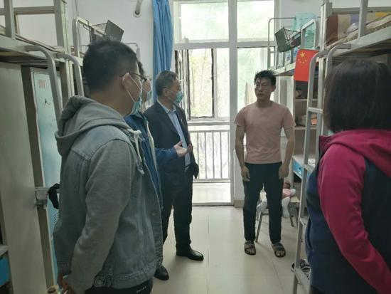 天津现代职业技术学院迎来2020年首批返校学生