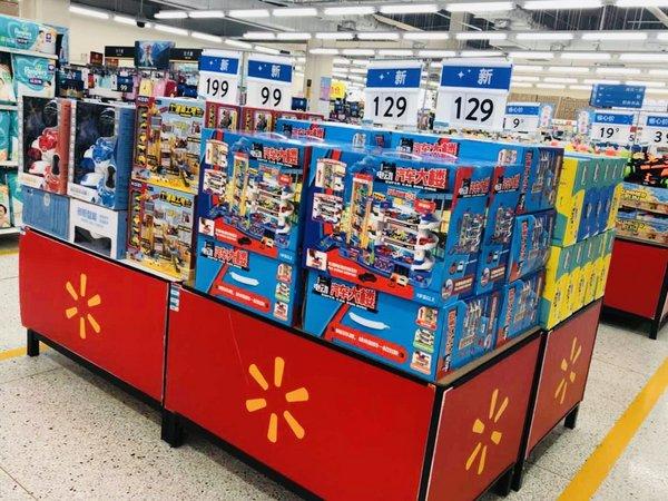 """沃尔玛""""六一""""打造沉浸式购物体验 玩具新品率超80%"""