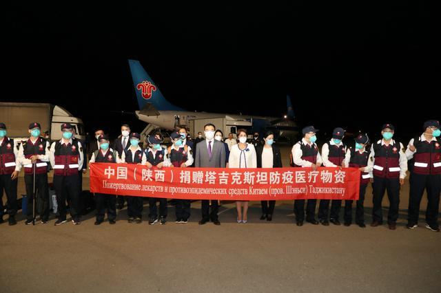 中国医疗专家团队抵达塔吉克斯坦