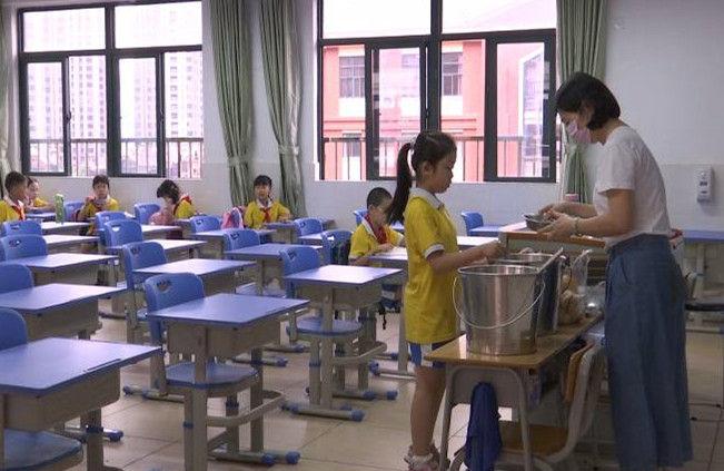 江门:中小学全部有序开学复课 错峰返校离校保障学生安全