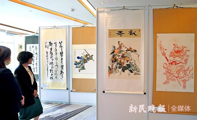 """""""城市悦读""""公益书画展所得将帮助西藏贫困孩子"""