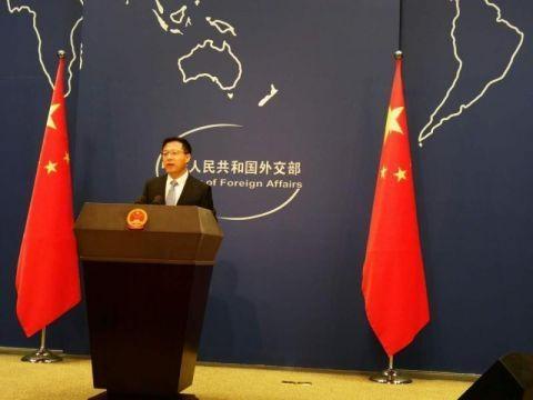 美交通部要求中国航空公司报备航班计划 外交部回应